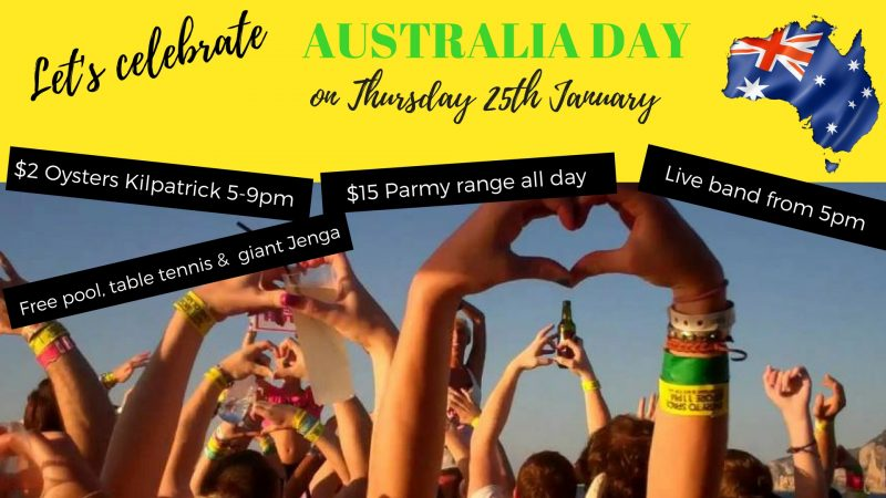 Australia Day Eve Celebrations