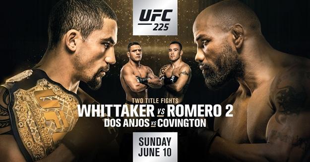 UFC 225 Rob Whittaker v Yoel Romero